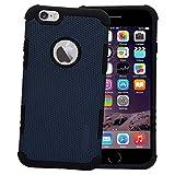 Digikart Hybrid Shock Proof Premium Blue Mobile Back Cover Case for iPhone 6/6S