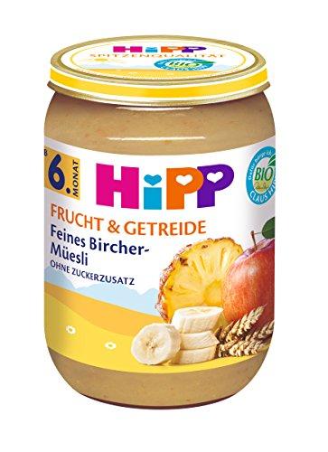 HiPP Feines Bircher-Müesli, 6er Pack (6 x