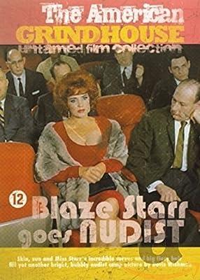 Blaze Starr goes Nudist - Import DVD mit englischem Originalton - American Grindhouse Untamed Film Collection