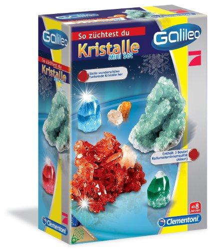 Clementoni 69936.0 - Galileo - Kristalle selbst züchten - Mini-Set