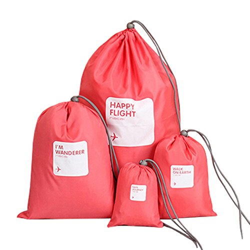 voyage-impermeable-sacs-bagagerie-blanchisserie-cordon-ditty-sacs-rouge