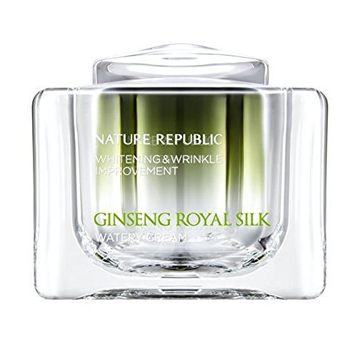 Nature Republic GINSENG ROYAL SILK WATERY CREAM 60g(2.11oz)whitening&wrinkle improvement