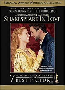 Shakespeare in Love [DVD] [1998] [1999] [Region 1] [US Import] [NTSC]