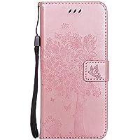 Shinyzone Samsung Galaxy S8 Flip Brieftasche Leder Hülle,Niedlich Karikatur Geprägte Katze & Baum Muster Kartenfach... preisvergleich bei billige-tabletten.eu