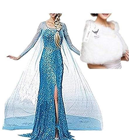 Adulte Femme Halloween - Fanessy Jupe Robe Costume Fancy Dress Femme