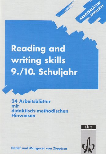 Arbeitsblätter Englisch: Reading and writing skills