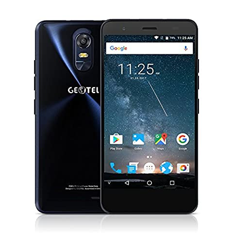 Geotel Note 4G Smartphone Android 6.0 5,5Zoll HD 1280 *