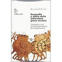 Geografia E Storia Della Letteratur