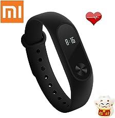 Xiaomi Mi Band 2 Braccialetto per Fitness Activity Tracker Heart Rate monitor Smart Fitband