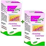 Shrey's Psorcare Neem, Anantmool & Indrajau - 100 Ml Oil (Pack Of 2)