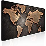 EXCOVIP Gaming Mouse Pad Large Size 900x400mm Water-Resistant Extended Mouse Mat World Desk Mat Gaming Support for Computer,