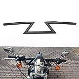 JFG RACING Guidon Universel 22 mm pour Harley Sportster Cruiser XL 883 1200 Custom Chopper Softail...