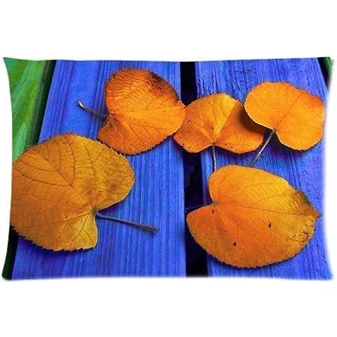 Autumn Leaves sulla scrivania con cerniera, 50,80 x 30 cm x 76,20 (20