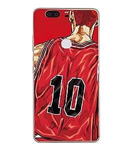 Fuson Designer Back Case Cover for Huawei Honor V8 (Basket ball Player game Champion T shirt)