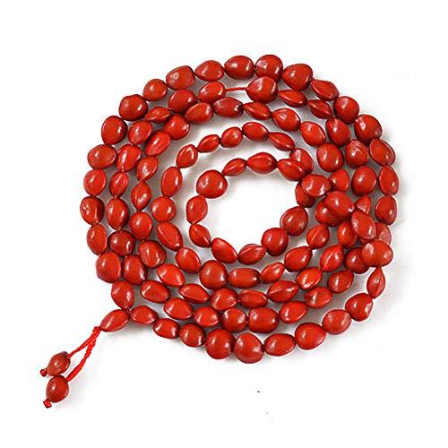 DOULAIMAIYA Rote Bohne Bodhi Handgemachtes Natürliches Korne Armband Transshipment Glückliches Rote Bohne Bodhi Armband - Mensch Bohne