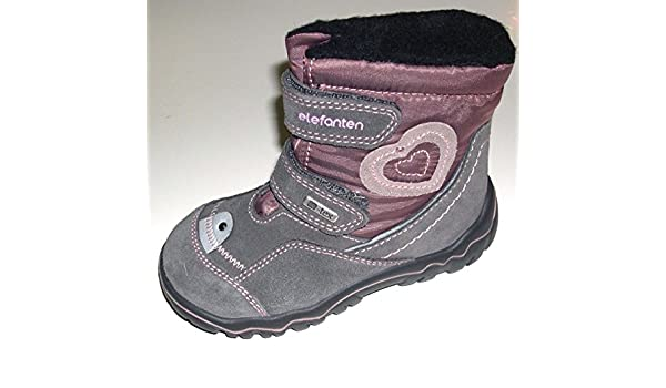 Schuhe Kinder Elefanten Tex Boots Winter Mädchen Warmfutter J1TFlKc