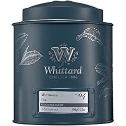 Whittard of Chelsea Afternoon Loose Leaf Tea Caddy, 1er Pack (1 x 100 g)