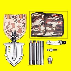 Cz-shovels Faltende Schaufelabenteuer-Fischenkampagnenschaufel der Ingenieurschaufel im Freien Mehrzweckmilitärmanganstahl im Freien
