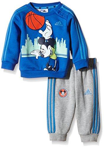 adidas Baby Jogginganzug Micky Maus, Mehrfarbig, Gr.  98, AB5218