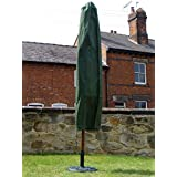 Weather Proof Heavy Duty Parasol Cover for 3 meter or 2.7 Meter Parasols - Water Proof Garden Furniture Cover - 5 Year Guarantee