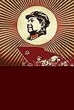 A.Monamour Chinesisch Requisiten Rot Fotohintergründe Vinyl Wandwanddekoration 5X7Ft Studio Präsident Vorsitzender Mao Wiedervereinigung Szene Fotohintergründe