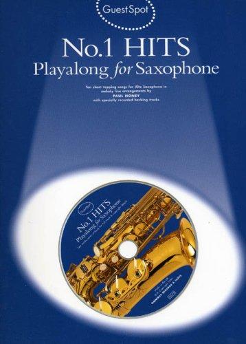 Guest Spot: No.1 Hits Playalong For Alto Saxophone por Paul (Arrange Honey