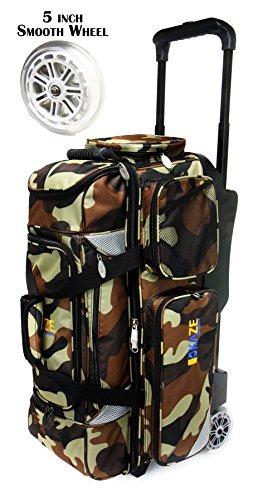 KAZE SPORTS 3Ball Bowling Roller, Camouflage (3 Bowling Ball Tasche)