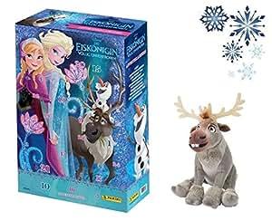 Frozen - Die Eiskönigin Adventskalender 2015 Serie 3 & Sven das Rentier Plüschtier
