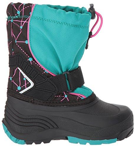 Kamik Kids Sleet2 Snow Boot teal print