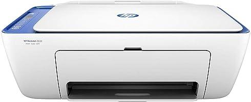 HP DeskJet 2630 Impresora multifunción (tinta instantánea, impresora, escáner, copiadora, WLAN, Airprint) con 2 horas de...