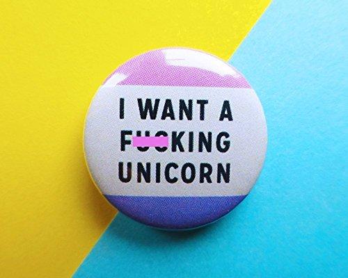 unicorn-badge-unicorn-pin-i-want-a-unicorn-button-badge-funny-badge-i-believe-in-unicorns-girl-gang-