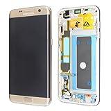 LCD Display Samsung G935F Galaxy S7 Edge Original full set gold - FHD Super AMOLED Curved LCD Display + Display Glas + Touchscreen + Elektronik