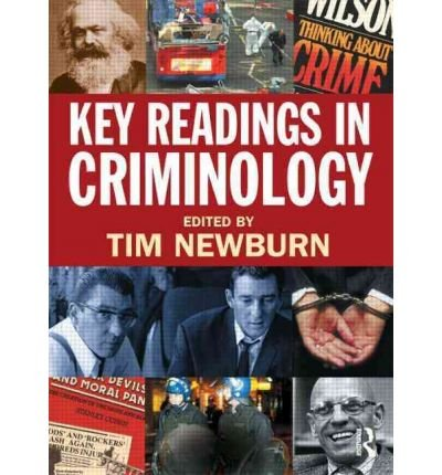 [ KEY READINGS IN CRIMINOLOGY ] by unknown ( Author ) [ Sep- 01-2009 ] [ Paperback ]