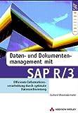 Daten- und Dokumentenmanagement mit SAP R/3 Effiziente Informationsverarbeitung durch optimale Datenarchivierung (SAP Profiwissen)