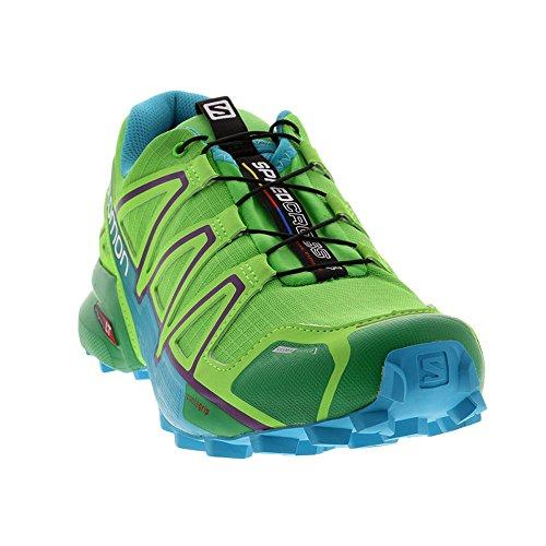 Da Cucchiai Verde Donna Trail W 4 Verde Scarpe Speedcross Solomon qwvpPHO