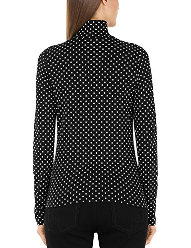 Marc Cain Collections T-Shirt Donna Mehrfarbig (Black And White 910)