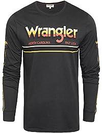 Amazon Maglie A ShirtPolo Lunga T E Manica itWrangler IYDbH9eWE2