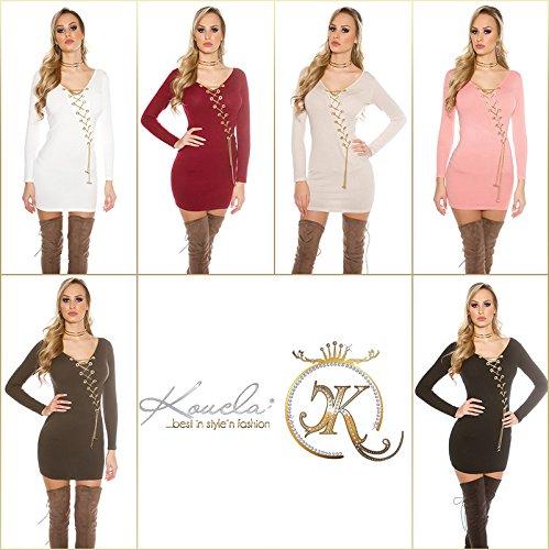In-Stylefashion - Robe - Femme marron marron clair taille unique Marron Clair