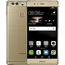 Huawei P9 Plus, LTE, Display 5.5'' FHD, 64 GB Memoria Interna, 4 GB RAM, Fotocamera 12 MP, Batteria 3400 mAh, Oro Gold