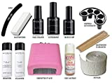 KIT SEMIPERMANENTE UNGHIE COMPLETO SMALTO MESAUDA MILANO GEL POLISH 5ml SMALTI + FORNETTO immagine
