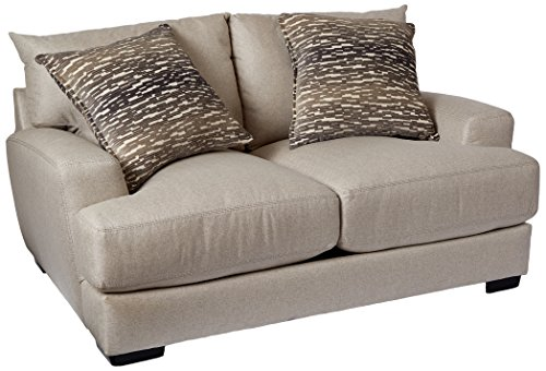 Franklin Furniture Oslo Loveseat, groß, Leinen - Franklin Möbel Sofa