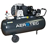 Aerotec 600-200 B38, Industrie Kompressor 200L mit Pulverbeschichtung und 10 bar Arbeitsdruck