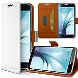 Seluxion - Housse Etui Support 360 degrés Universel S couleur Blanc pour Yezz Andy 4EL2 LTE