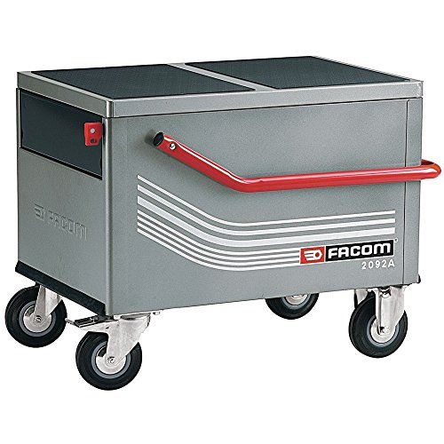 FACOM 2092A Koffer-Werkzeugwagen aufklappbar + 2 Schub-faecher
