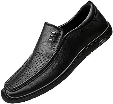 Hombres Estaciones Casual Moda Negocios Juventud Cordones Zapatos De Cuero