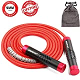 Springseil Gewichtete Einstellbare Springseil Crossfit Speed Rope Für Frauen Männer - Aluminium...