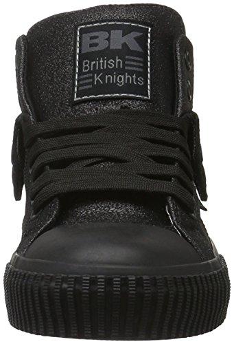 British Knights Roco, Baskets Basses Mixte Adulte Noir - Schwarz (Black/Black 01)