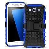 Samsung Galaxy S3 Outdoor Hülle Case in Blau Extra Schutz, Robuste Samsung Galaxy S3 Schutzhülle Handyhülle Cover Silikonhülle Rückschale