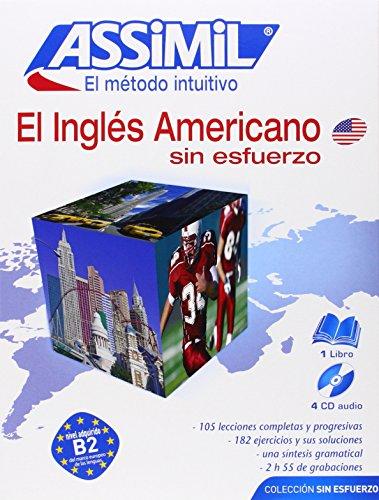 El Inglés Americano. Sin Esfuerzo (1 libro + 4 CDs) (Senza sforzo)