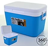 Marko Insulated Portable Cool Box, 45 Litres
